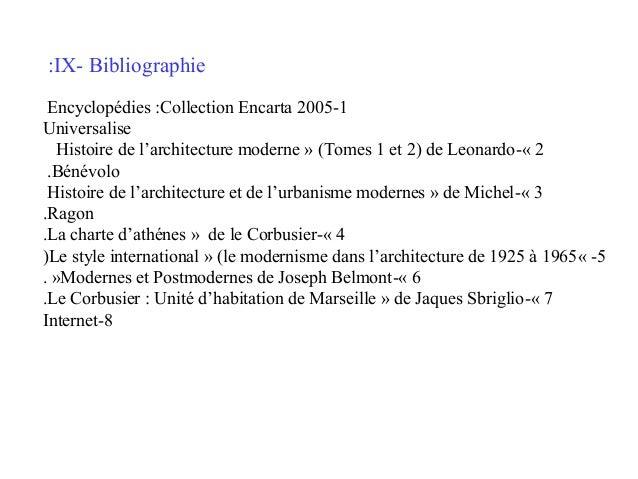 :IX- Bibliographie Encyclopédies :Collection Encarta 2005-1 Universalise Histoire de l'architecture moderne » (Tomes 1 et ...