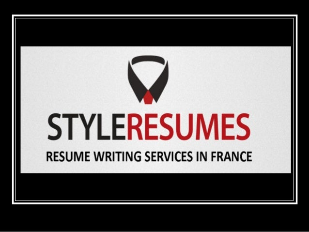 RESUMES WRITING SERVICES IN FRANCE Style Resumes is an international company with unparalleled experience in providing qua...