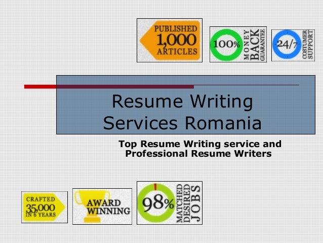 Resume Writing Services Romania Top Resume Writing service and Professional Resume Writers