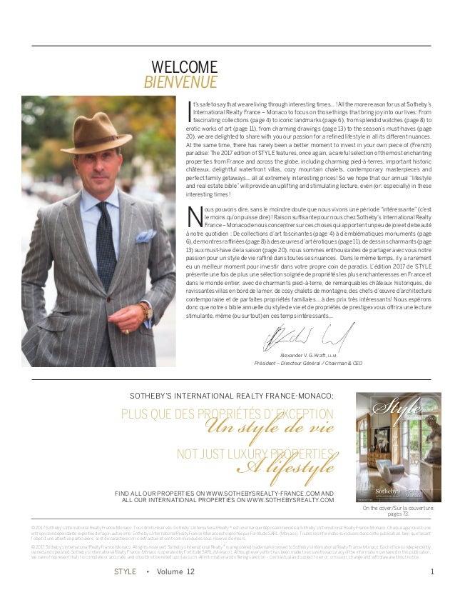 Vol12 Style Sotheby's Monaco Realty International France kXTiwOPZu