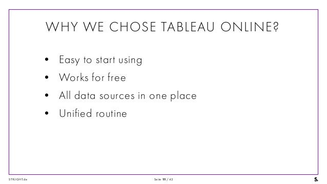 Secure Data Scalability at Stylight with Tableau Online and Amazon Re…
