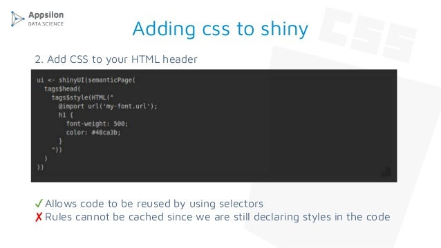 Styling your projects! leveraging css and r sass in r projects