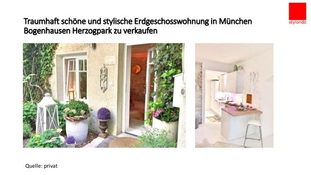 Zu verkaufen - Stylische Altbauwohnung in München Bogenhausen Herzogpark Slide 2