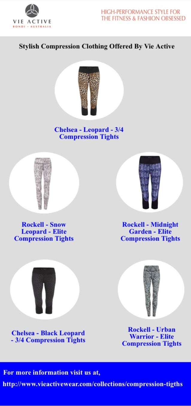 26a9635e868b02 Stylish Compression Clothing Offered By Vie Active. '$3 I nor  l-l'[Rl'_(j_)RM