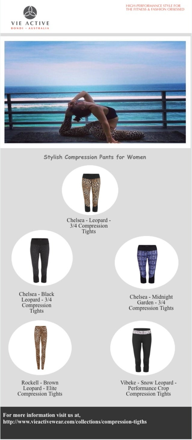 4551bf8cb22b Stylish Compression Pants for Women VIE ACTIVE