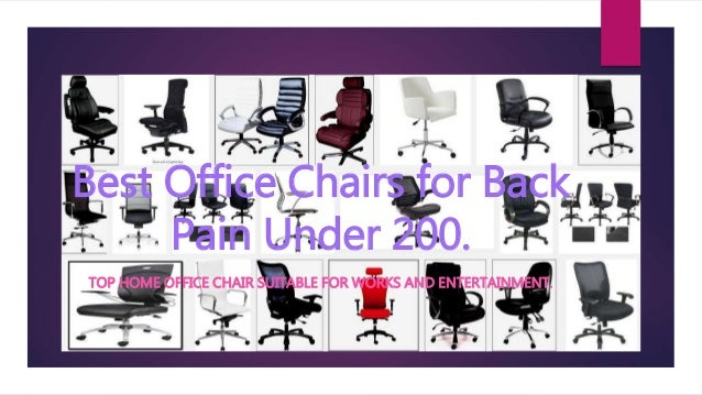 Chairs For Bad Backs Home: Top 10 Best Office Chair For Back