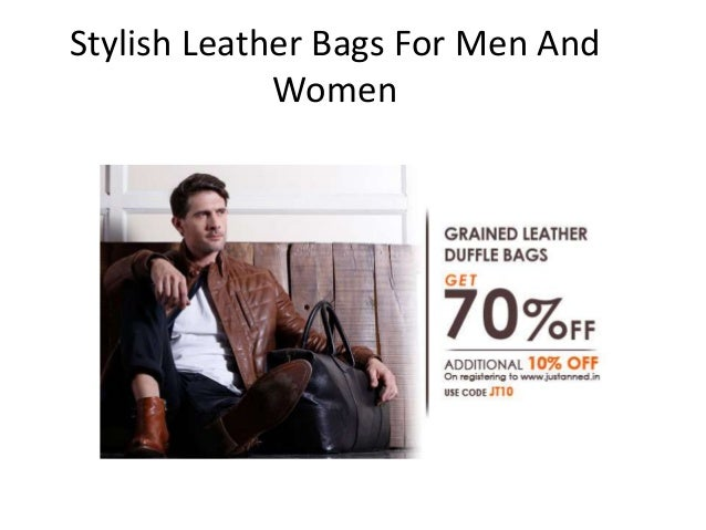 Stylish Leather Bags For Men And Women