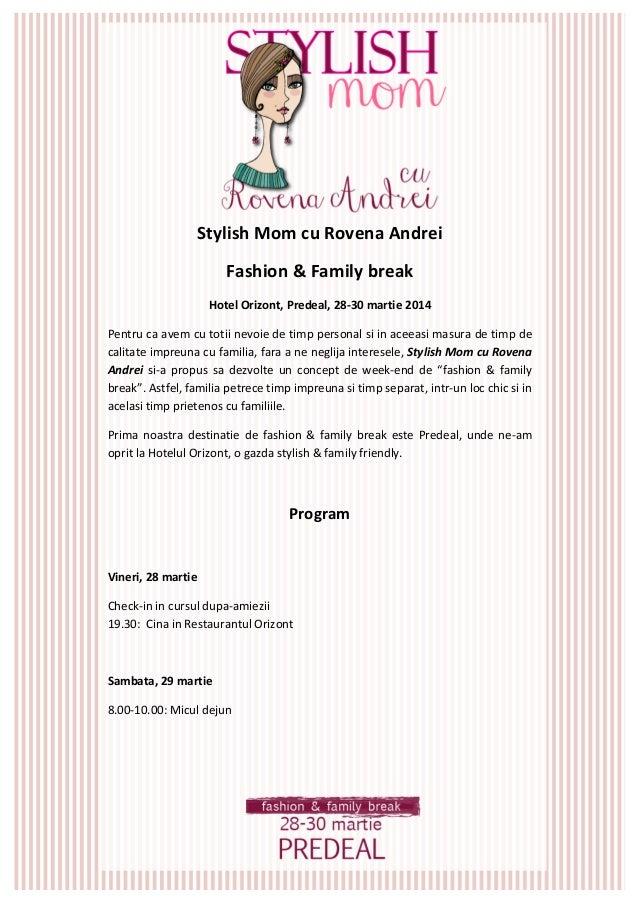Stylish  Mom  cu  Rovena  Andrei   Fashion  &  Family  break   Hotel  Ori...