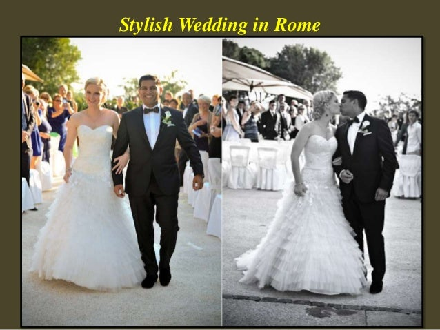 Stylish Wedding in Rome