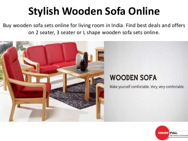 Marvelous Stylish Wooden Sofa Online Pabps2019 Chair Design Images Pabps2019Com