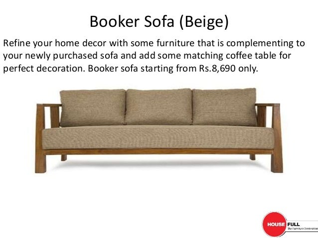 Stylish Wooden Sofa Online