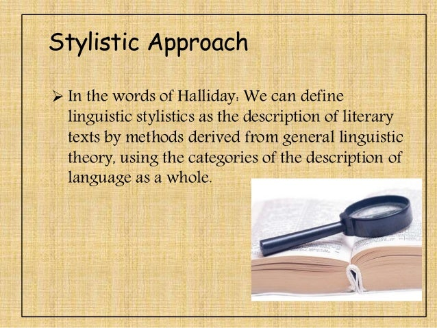 stylistic analysis of the poem Methodology stylistic analysis will be used to explore the themes through different poetic devices and vocabulary items to understand the poembecause hiss of snow suggesting serpent the poem has different themes and interpretation.