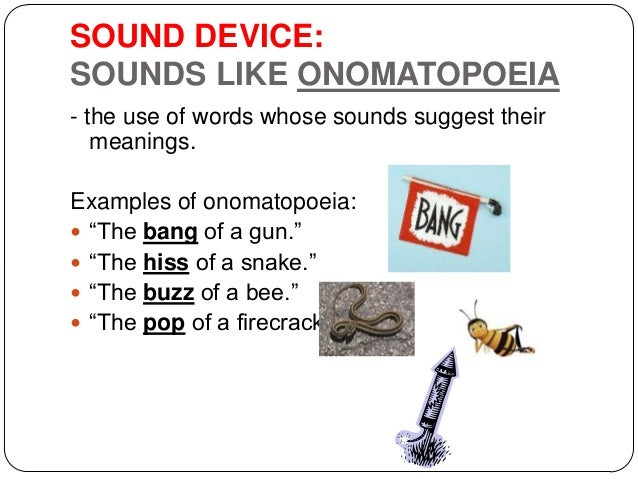 Onomatopoeia Examples Figures Of Speech Choice Image Example Cover