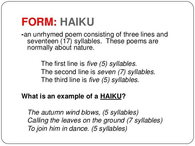 haiku analysis
