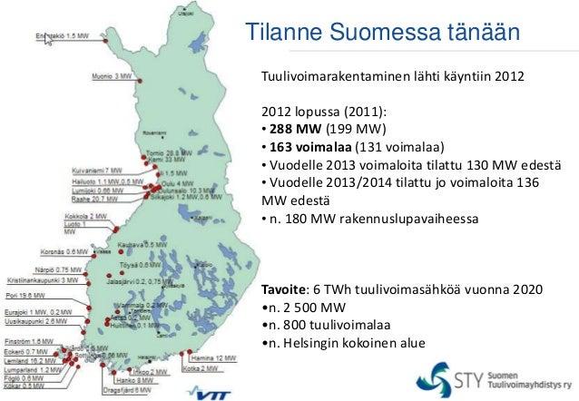 Tuulivoimalat Suomessa