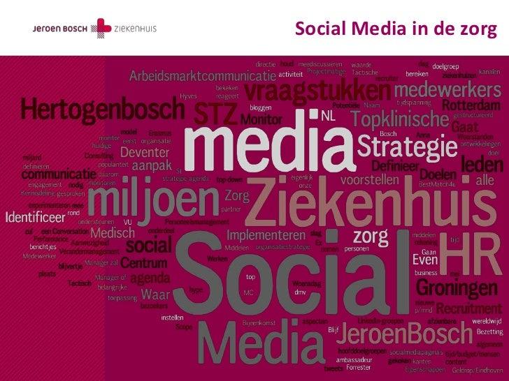Social Media in de zorg