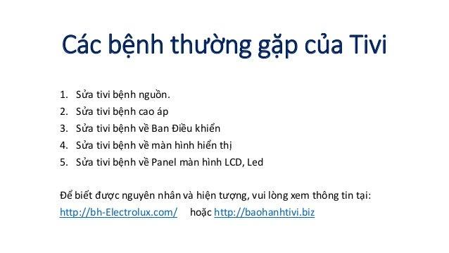 Sửa Chữa Tivi Tại Nhà Hà Nội - TT Điện tử Bách Khoa HN Slide 2