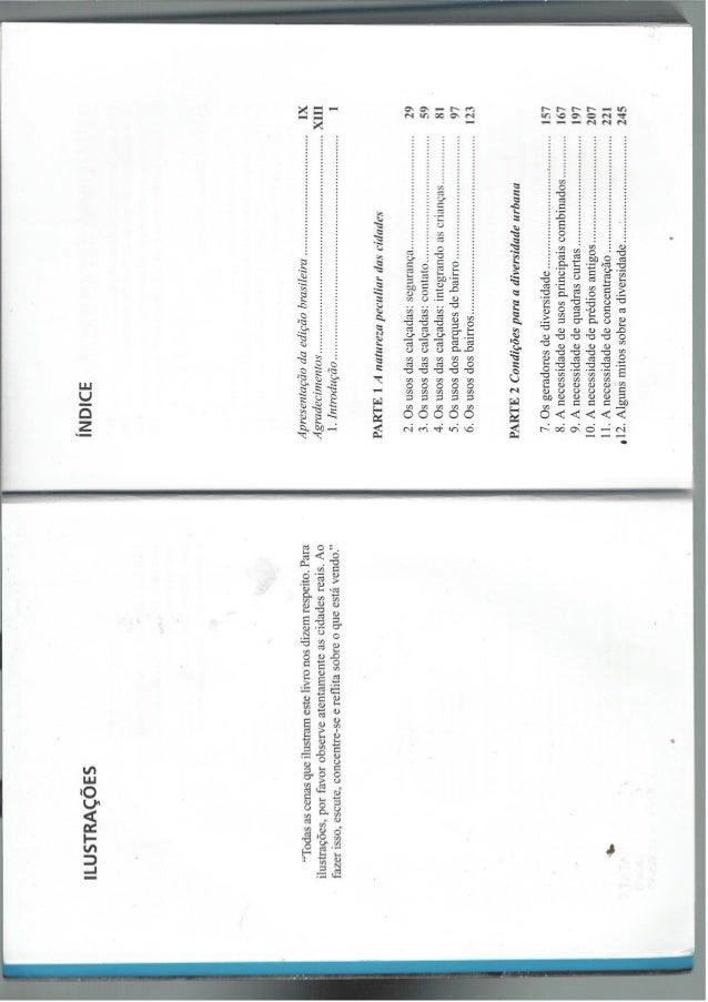 LIVRO JANE JACOBS - Suamrio a pag. 184