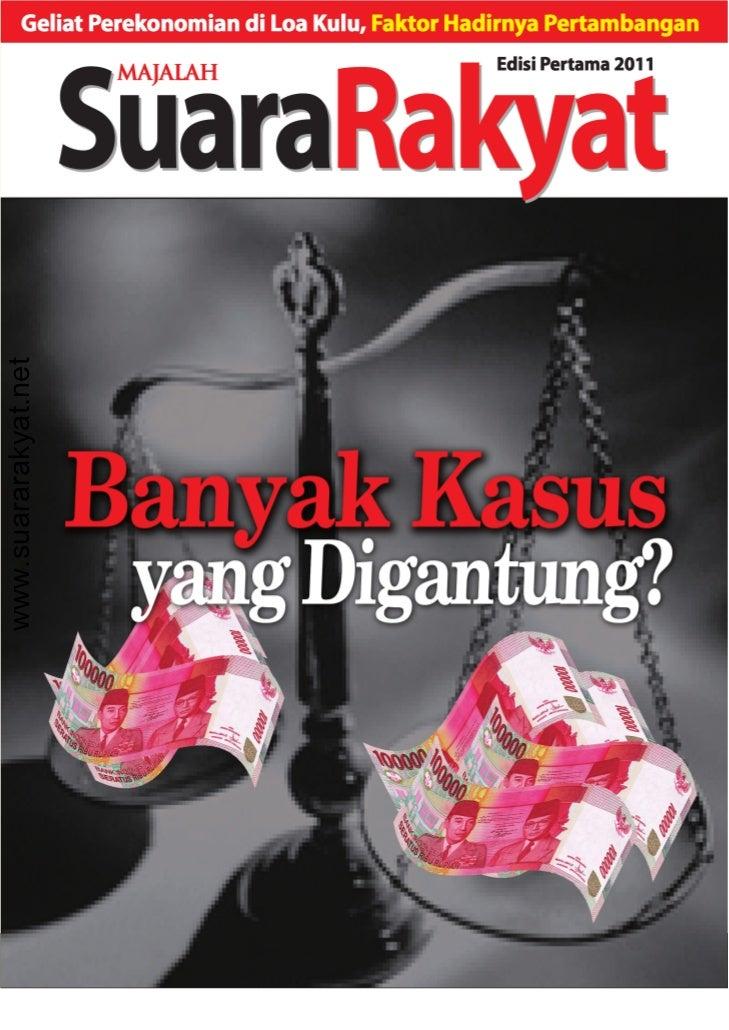 www.suararakyat.net                      SuaraRakyat / Edisi Pertama 2011   1