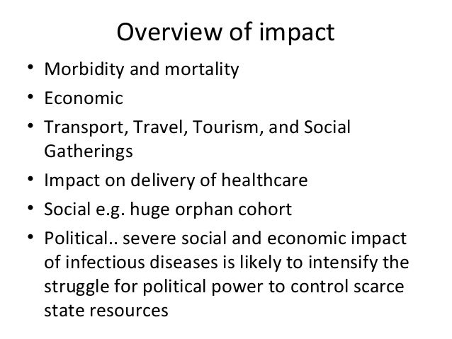 an overview of economic evaluation of infectious diseases Apec economic leaders' meeting in santiago, chile (overview and evaluation)  leaders agreed it was important to address infectious diseases as a.