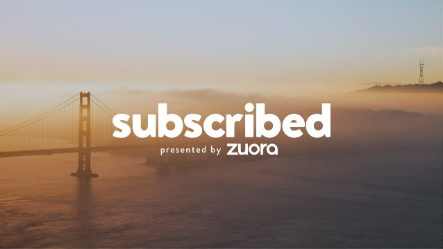 WELCOME TO SUBSCRIBED 2015