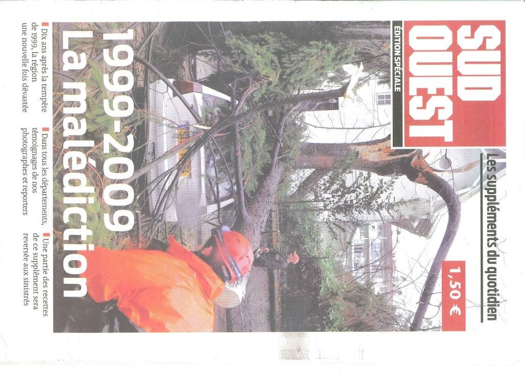 STORM 24 JAN 2009 -S.WEST FRANCE 2