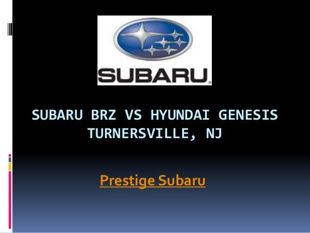 Hyundai Of Turnersville >> Subaru Brz Vs Hyundai Genesis Turnersville Nj