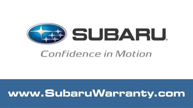 Subaru Extended Warranty Coverage Plans