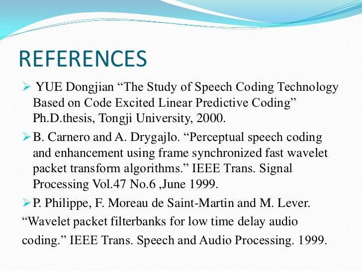 thesis speech language pathology