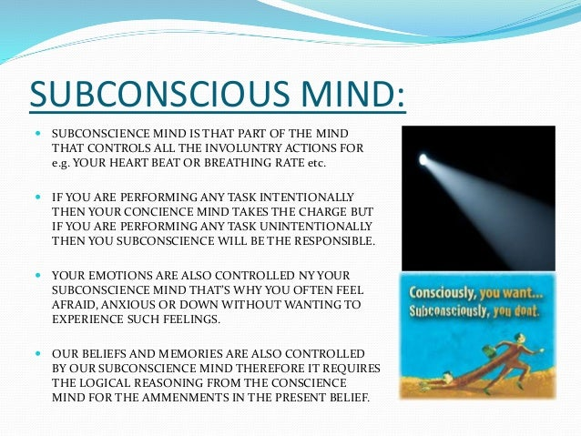 conscious vs unconscious Home subconscious vs unconscious: what's the difference in english by extension of the same rules, unconscious would mean not conscious, and subconscious would mean below consciousness the difference between not conscious and below consciousness might seem trivial.