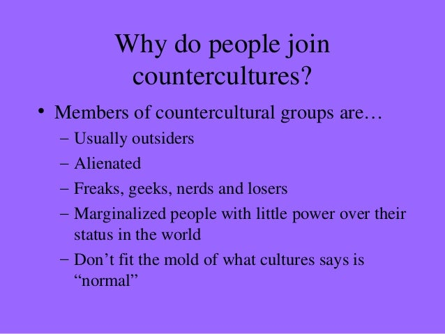 how are subcultures and countercultures related