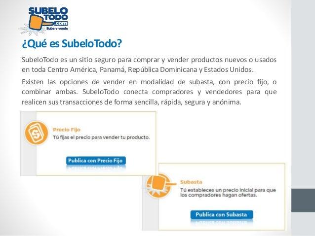 SubeloTodo - Subastas y ventas online