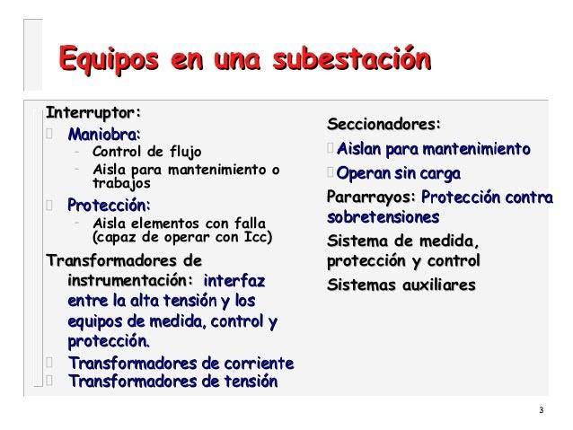 Subestaciones electricas tipos  Slide 3