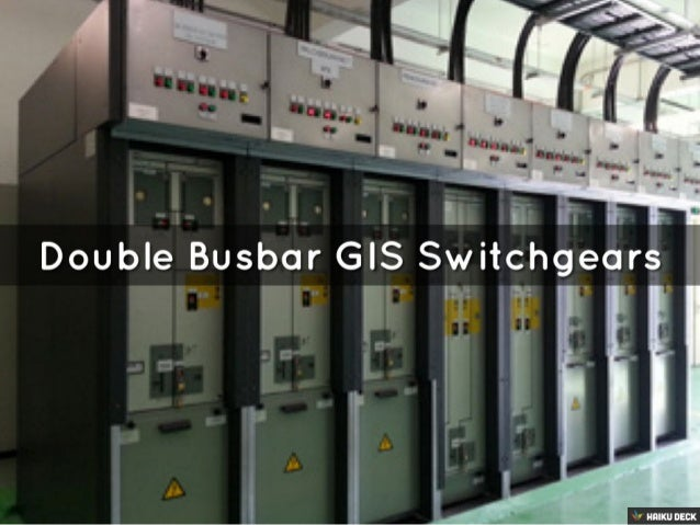 "Double Busbar GIS Switchgear g   ft '"" I .  ___—3- 'H5' 1 i '1 I .  . | _g .  f . r r """
