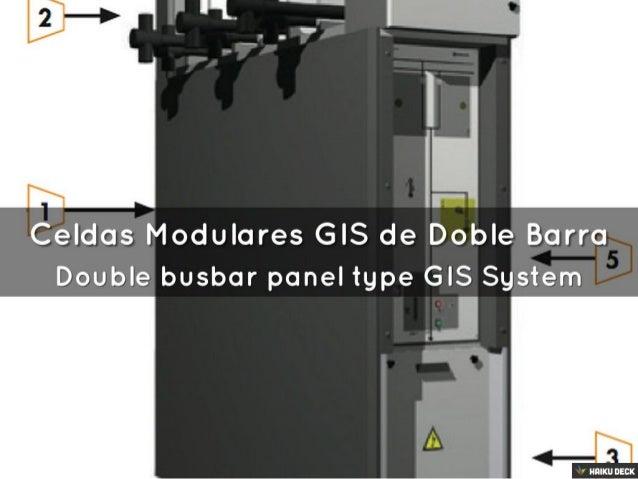 J1 'T?    In tr-  Celdas Modulares GIS de Doble Barra Double busbar panel type GIS System