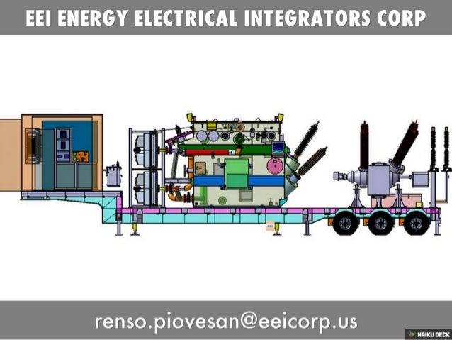 Subestacion Movil de Transformacion. Mobile Transformer Substation.
