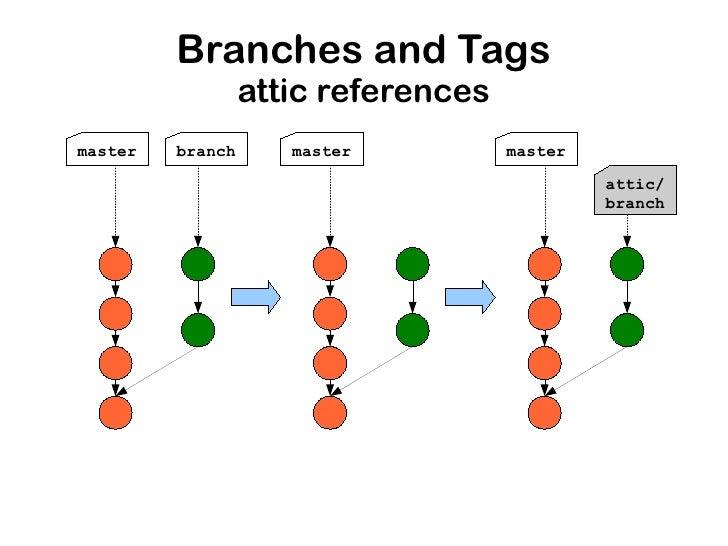 git tag vs branch