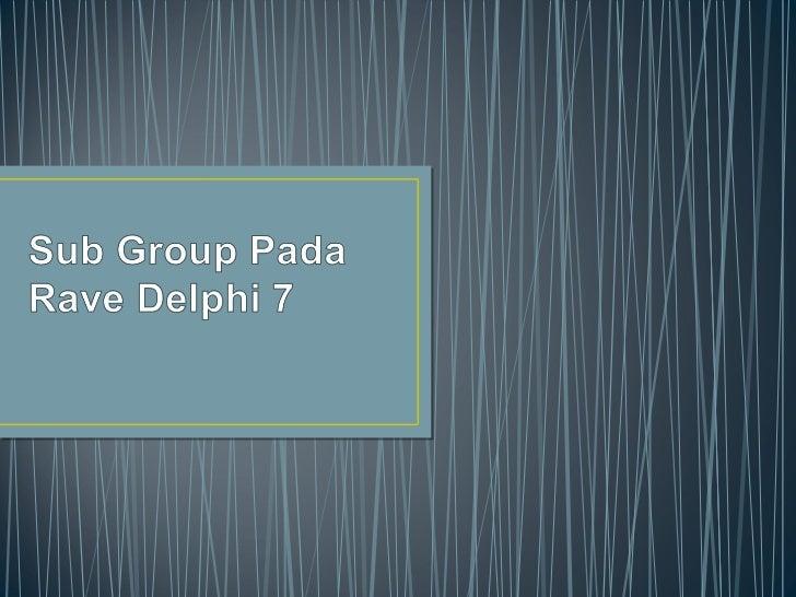 1.   Buat rave seperti biasa2.   Buat Group header band (dengan band componen)dan seting seperti di     gambar di bawah: (...