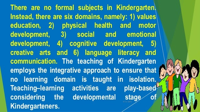 kindergarten education act r a 10157 But the view of kindergarten education has changed much from previous years   the creation of the early childhood care and development act of 2000 ( republic act no  10157 making it compulsory and mandatory in the entire  nation.