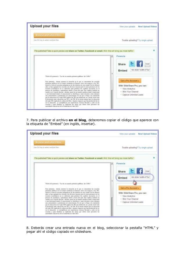 Subir pdf-a blog Slide 3