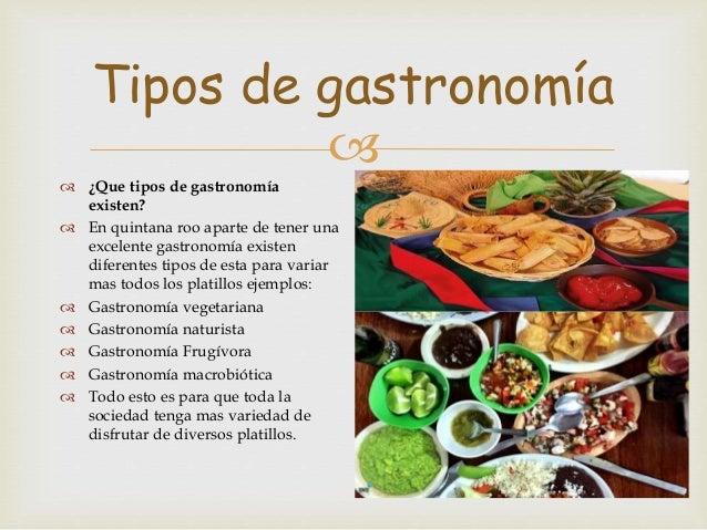 Gastronomia de quintana roo for Que es la comida molecular