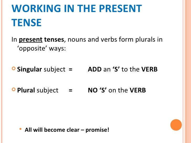 Effective Ways Of Teaching Subject Verb Agreement Essay Help