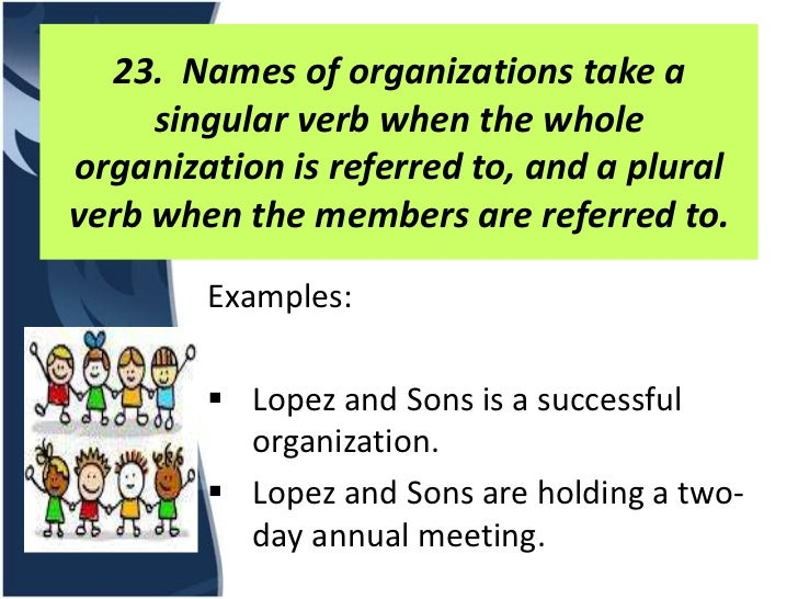 Summary Of Subject Verb Agreement Choice Image Agreement Letter Format
