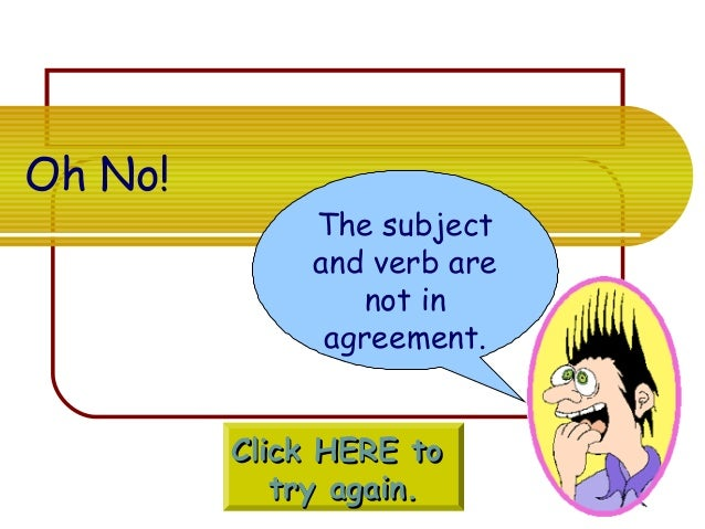 Subject Verb Agreement Online Quizbject Verb Agreement Worksheets