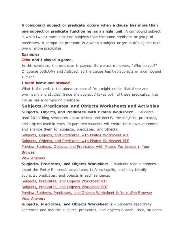 3 FREE ESL identify verbs worksheets