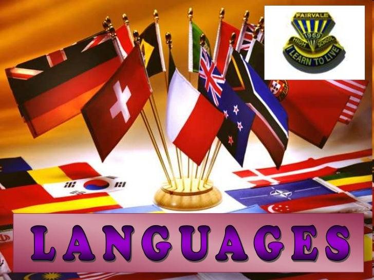 LANGUAGES<br />