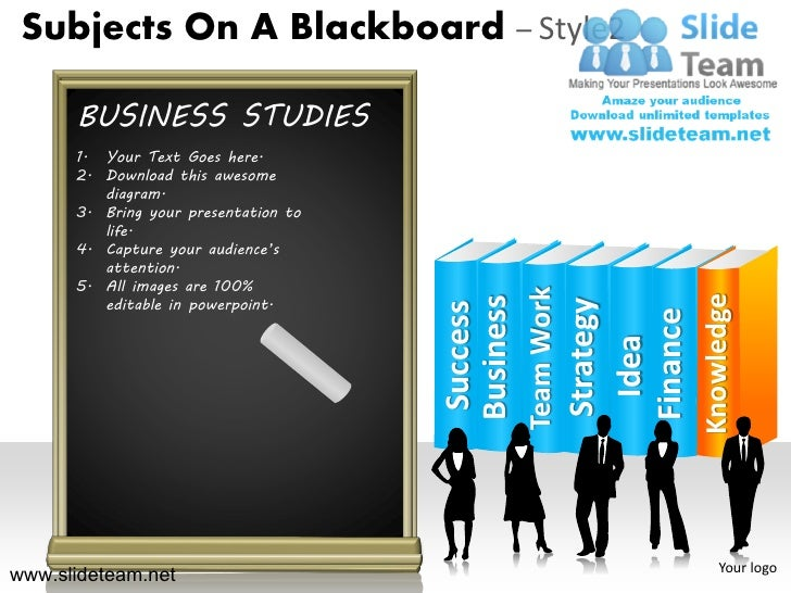 subjects on a blackboard religion languages biology design 2 powerpoi