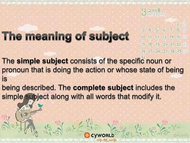 Subject & verb agreement Slide 2