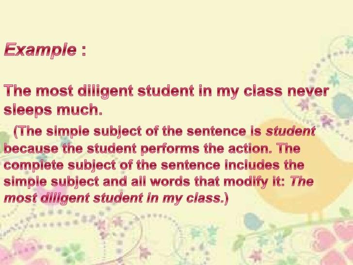 Subject & verb agreement Slide 3