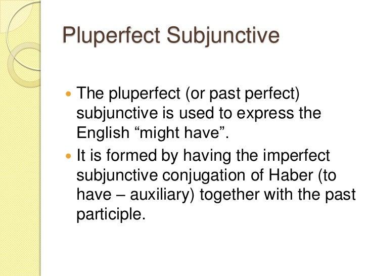 Subjunctive (no pictures)